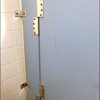 Anti-Theft Restroom Stall 2