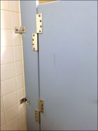 Anti-Theft Restroom Stall 2