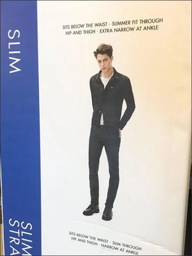 Calvin Kline Size & Style Guidance 2