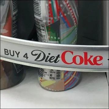 Coke C-Channel Productstop Feature
