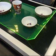 Edge-Lit Acrylic Tray Macys Tableware 2