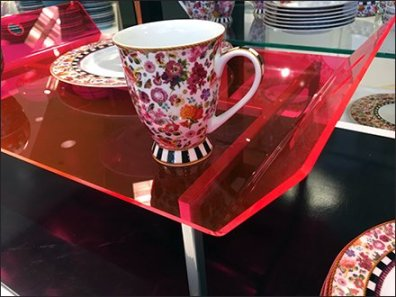 Edge-Lit Acrylic Tray Macys Tableware 6