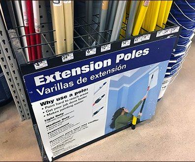 Extension Pole Grid Dividers Overall 1
