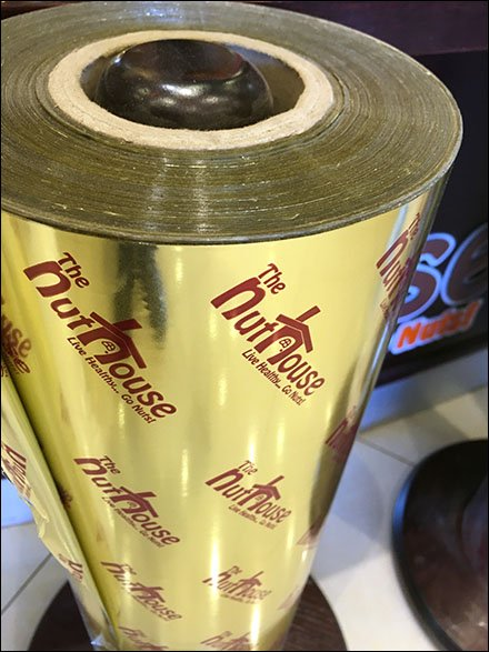 NutHouse Cleverly Brands In-Store Gift Wrap Rolls