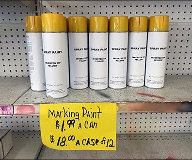 Generic Brand Spray Paint Sale 1