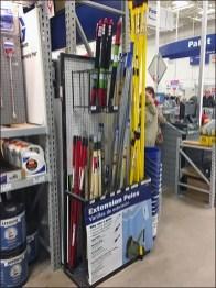 Half-Height Extension Pole Merchandisers 1