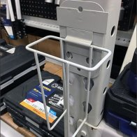 Hinged Kobalt Pallet Rack Literature Holder 1