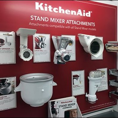 Index Small Appliance Merchandising Fixtures Close Up