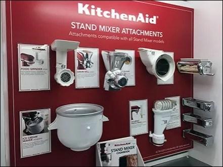 KitchenAid Mixed Attachment Display 1