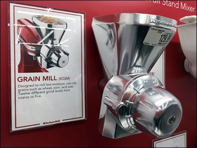 KitchenAid Mixed Attachment Display 3