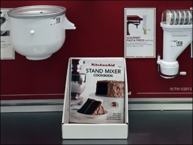 KitchenAid Cookbook Corrugated Holder