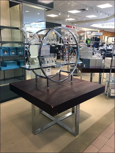 Lenox Glass Circular Display Rack 1
