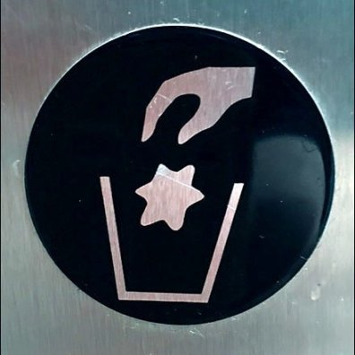 Locking Restroom Waste Container Icon v2