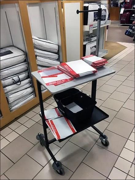 Macys Visual Merchandising Cart
