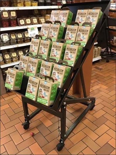 Mini Organic Mushroom Farm Rack Main