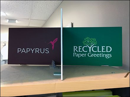 Papyrus Recycled Greeting Card Header