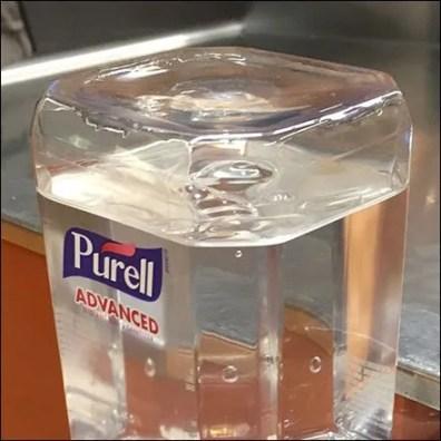 Purell Cashwrap Hand Sanitizer Station