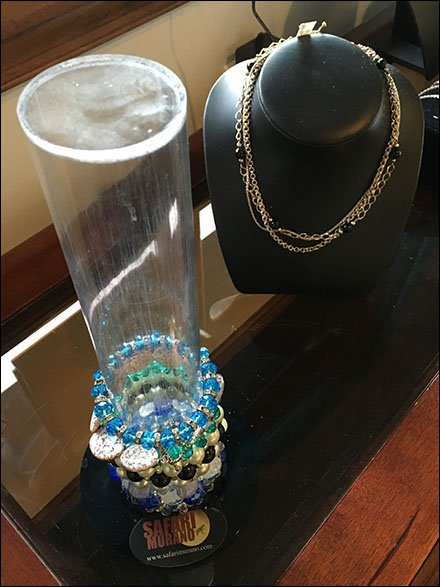 Fashion Bracelet Acrylic Cylinder for Safari Murano