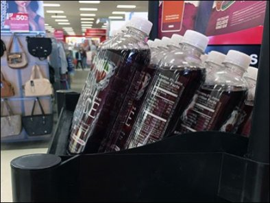 Sparkling Ice Successfully Reverses Effect of Gravity Feed