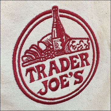 Trader Joes Branded Reuasable Shopping Bag Feature
