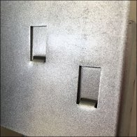 Wall Safel Display Slot Mounts 3