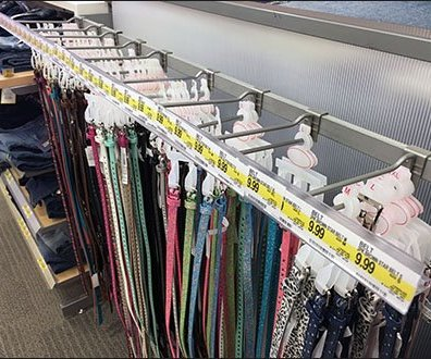 How to Merchandise 81 Styles and Sizes of Belts