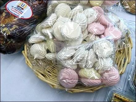 Armenian Meringue Cookies Wicker Plate Main