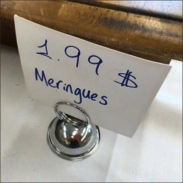Armenian Meringues Coil Clip Sign Feature
