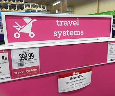 Babies R Us: Storewide Color-Coding Deconstructed