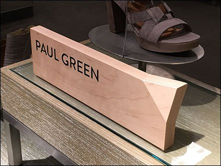 Bent Wood Paul Green Branding