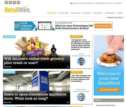 Clip Service - RetailWire Site Relaunch