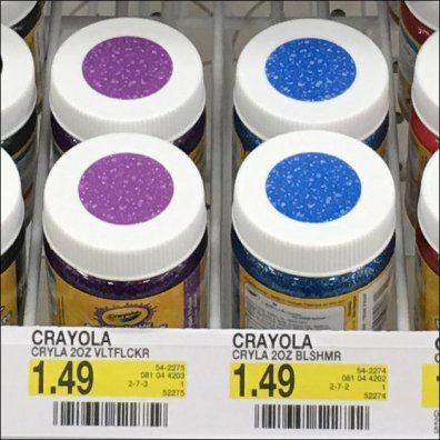 Crayola Self-Color-Coded Paints 2