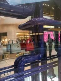 Dior Window Dressing Pipe Dreams in Purple PVC