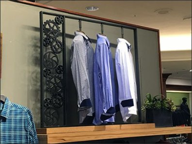 Dress Shirts Geared For Action Rack 1