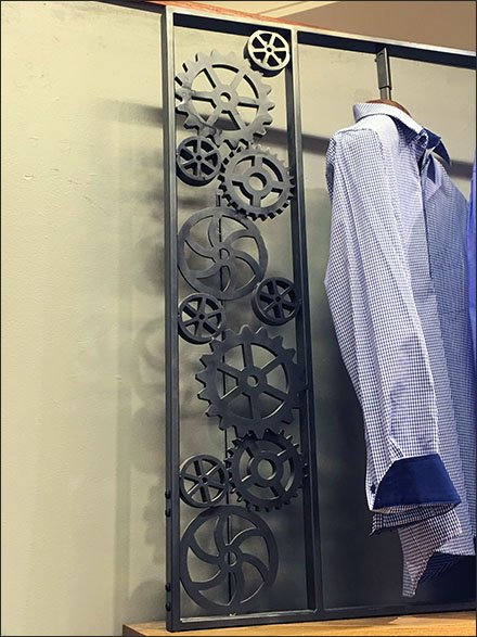 Dress Shirts Geared For Action Rack Main