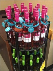 Fre White Zinfandel Circular Rack 2