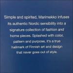 Marimekko Brand Defined