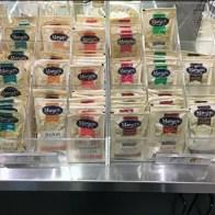 Marietta Single-Serve Salad Dressing Rack in Clear Acrylic