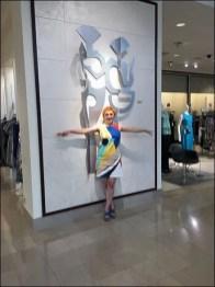 Neiman Marcus Metal Wall Sculpture 1