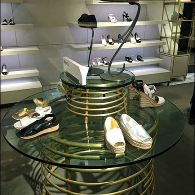 Prada Coil Table Display 2