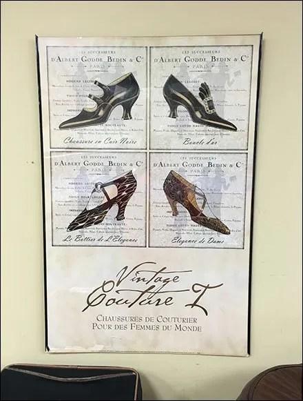 Rago Bros Shoe Vintage Couture Main