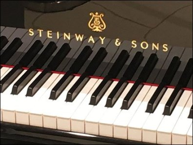 Selling Steinway Pianos At The Mall Logo
