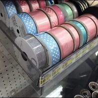 Spools Ribbon Pegboard Tray 5