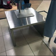 Stainless Steel Pedestal 3