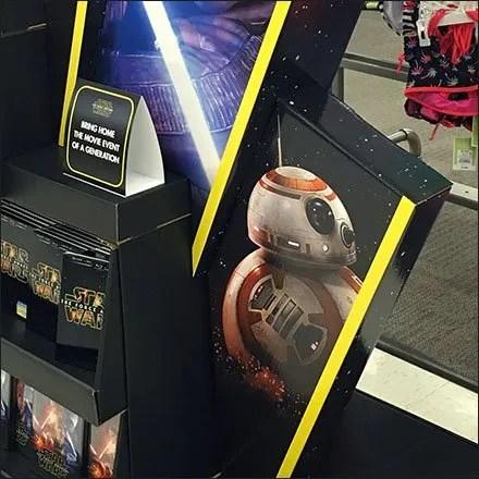 Star Wars Tent Display