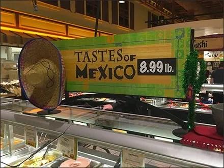 Tastes of Mexico Sombrero 1