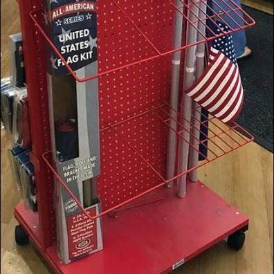 Valley Forge FreeStanding Flag Merchandiser 5