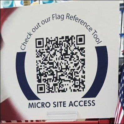 Valley Forge FreeStanding Flag Merchandiser QR Code