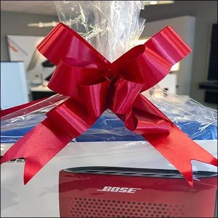 Bose Ribbon Matches Bose Speaker Feature 2
