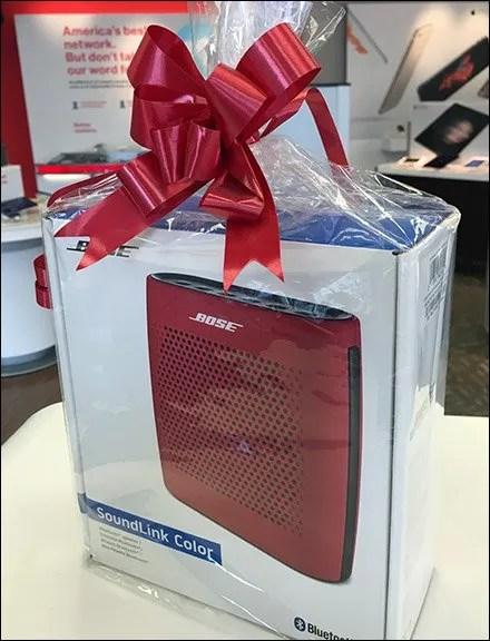 Bose Ribbon Matches Bose Speaker Main